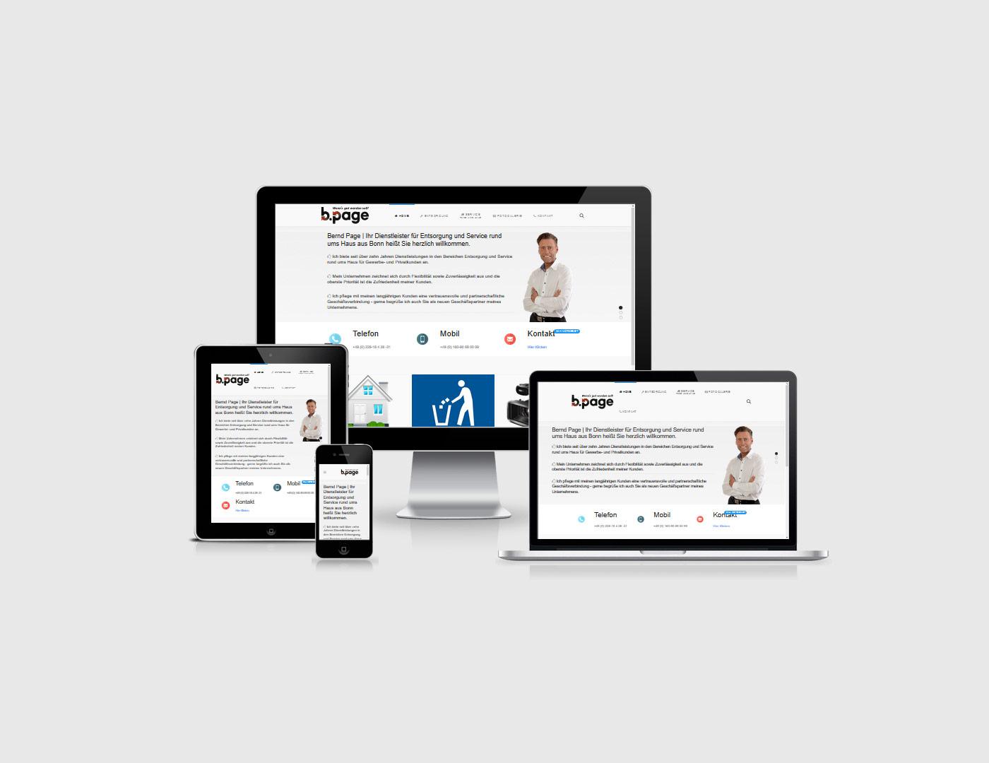 Webdesign Eifel erstellt eine Webseite für Page aus der Eifel